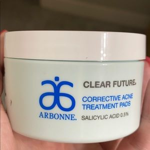 Corrective action clear future acne pads